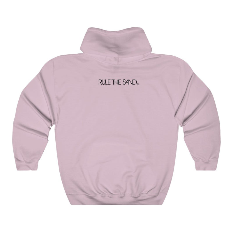 Queen Of The Beach® x Rule The Sand Unisex Heavy Blend Hooded Sweatshirt