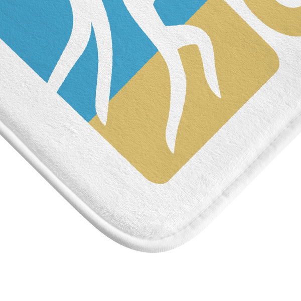 King Of The Beach™ Sinjin Smith's Beach Volleyball Camps Bath Mat
