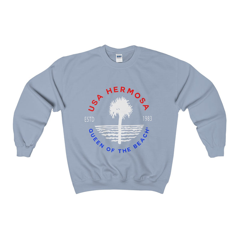 Queen Of The Beach™ Hermosa Beach Collection Classic Unisex Crewneck Sweatshir