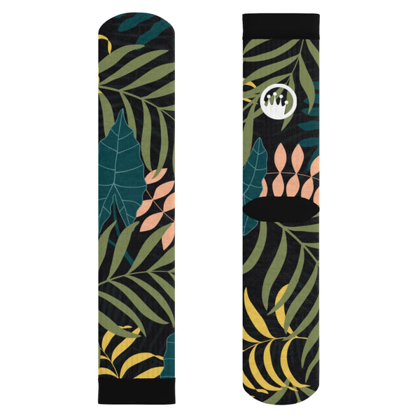 "Circle Crown™ ""Jungle Fever"" Sublimation Socks"