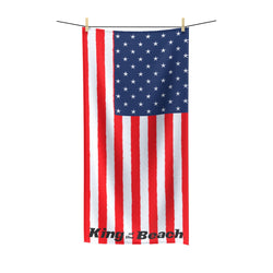 King of the Beach® USA Beach Towel