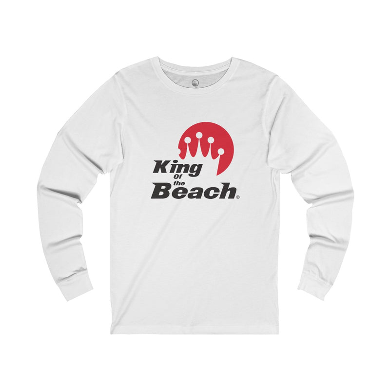 King Of The Beach® Stack Logo Long Sleeve T-Shirt