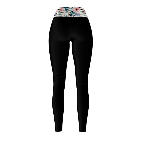 "Queen Of The Beach® Women's ""Wonderland""Circle Crown Sports Leggings"