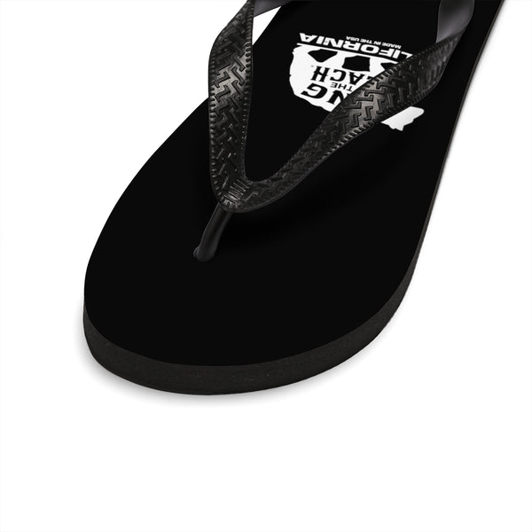 King Of The Beach® California Collection Black Flip-Flops