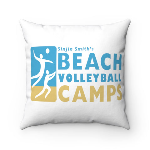 King Of The Beach™ Sinjin Smith's Beach Volleyball Camps Pillow