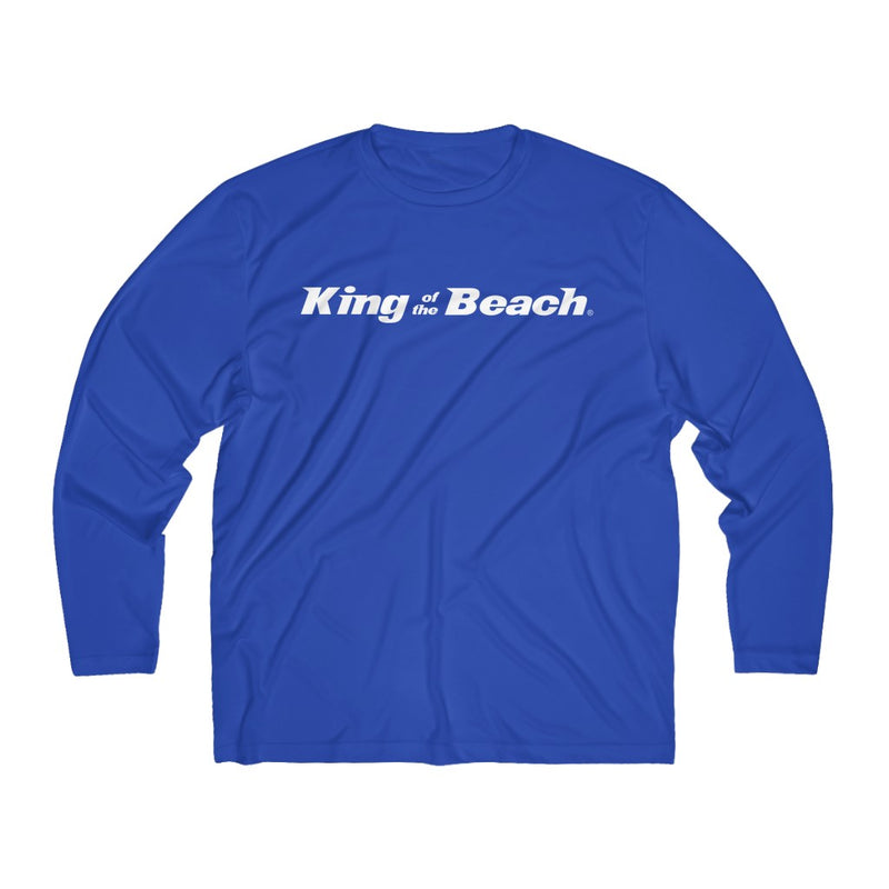 King of the Beach® Signature Logo Performance LS Shirt
