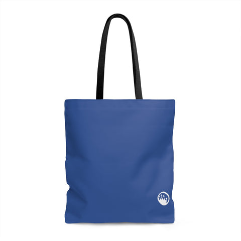 "Queen of the Beach® Circle Crown ""Meeting"" Navy Tote"