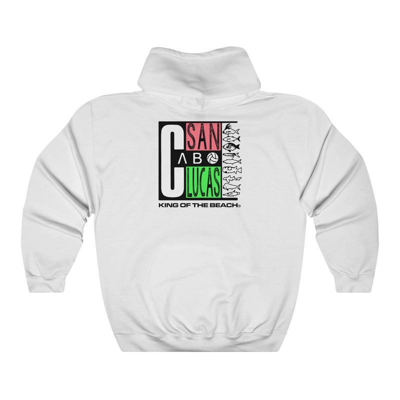 "King Of The Beach® ""Vintage Cabo San Lucas"" Unisex Hoodie"