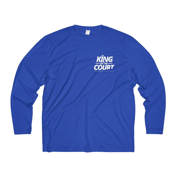 King of the Court™ Men's Long Sleeve Moisture Absorbing Tee