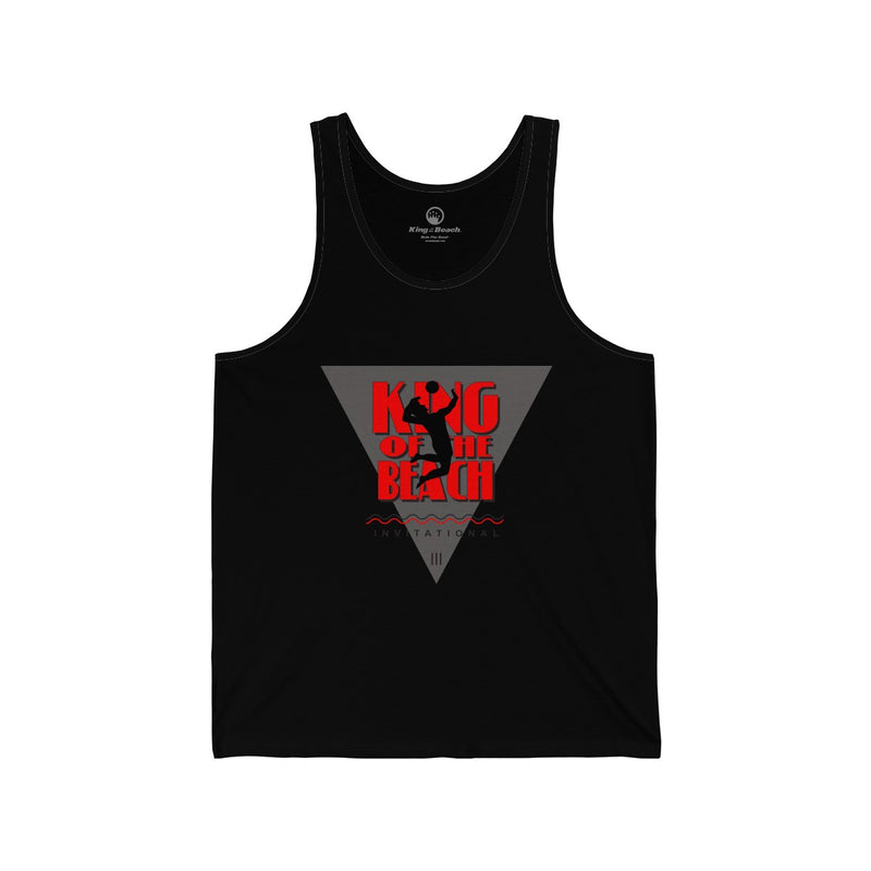 King Of The Beach® Classic Invitational Unisex Jersey Tank