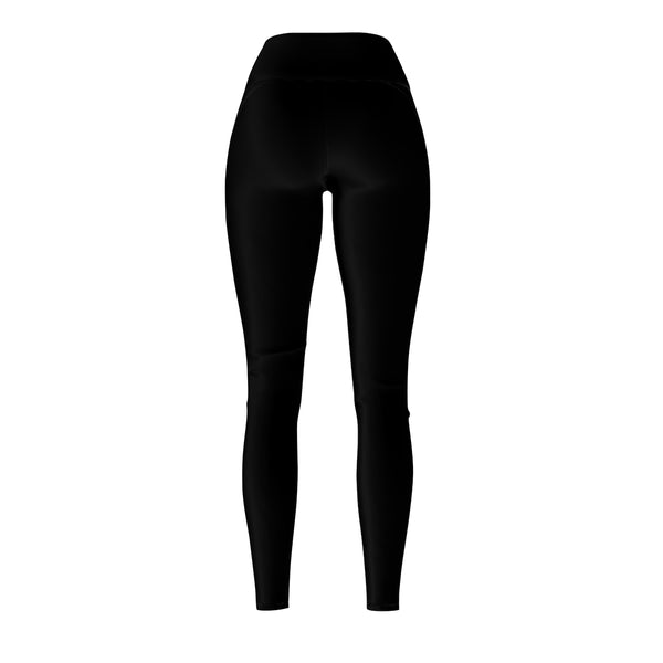 Queen Of The Beach® Old School Logo Black Women's Tour Sport Leggings