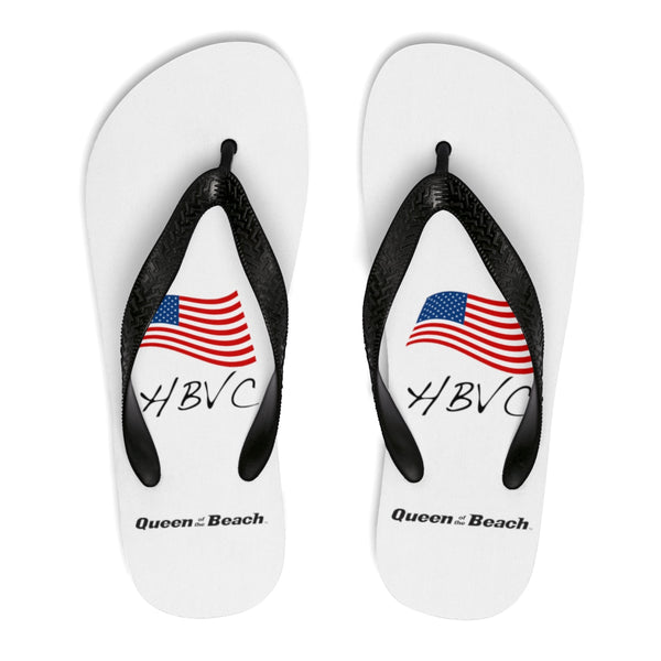 Queen Of The Beach™ HBVC Unisex Flip-Flops