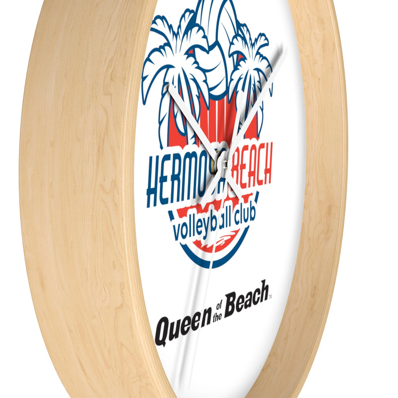 Queen Of The Beach® Hermosa Beach Collection Wall clock