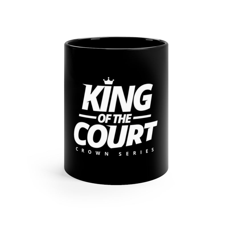 King of the Court™ Black mug 11oz