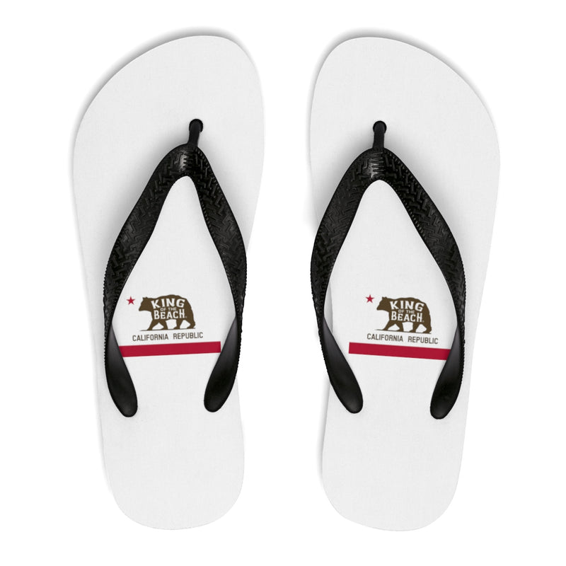 King Of The Beach® California Club White Flip-Flops