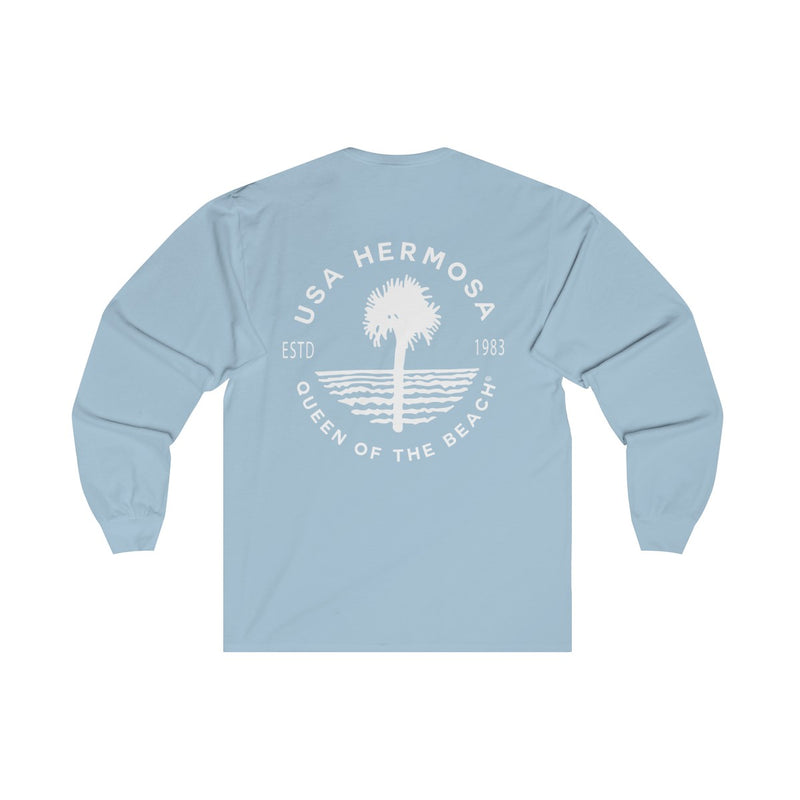 Queen Of The Beach™ Hermosa Beach Collection Classic Women's Long Sleeve Tee