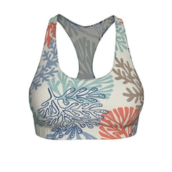 "Queen of the Beach® Circle Crown ""Siren"" Sports Bra"