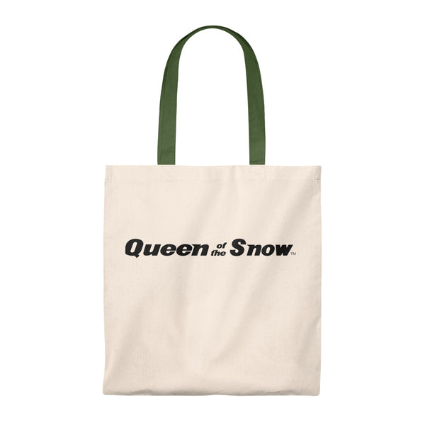 Queen Of The Snow™ Vintage Tote Bag