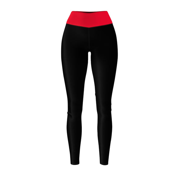 Queen Of The Beach® Women's Red-Band Circle Crown Sports Leggings