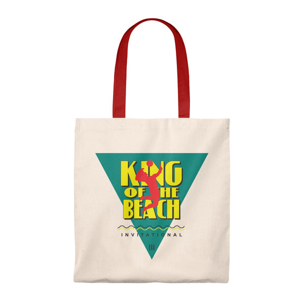 "King of the Beach® ""Invitational"" Vintage Tote"
