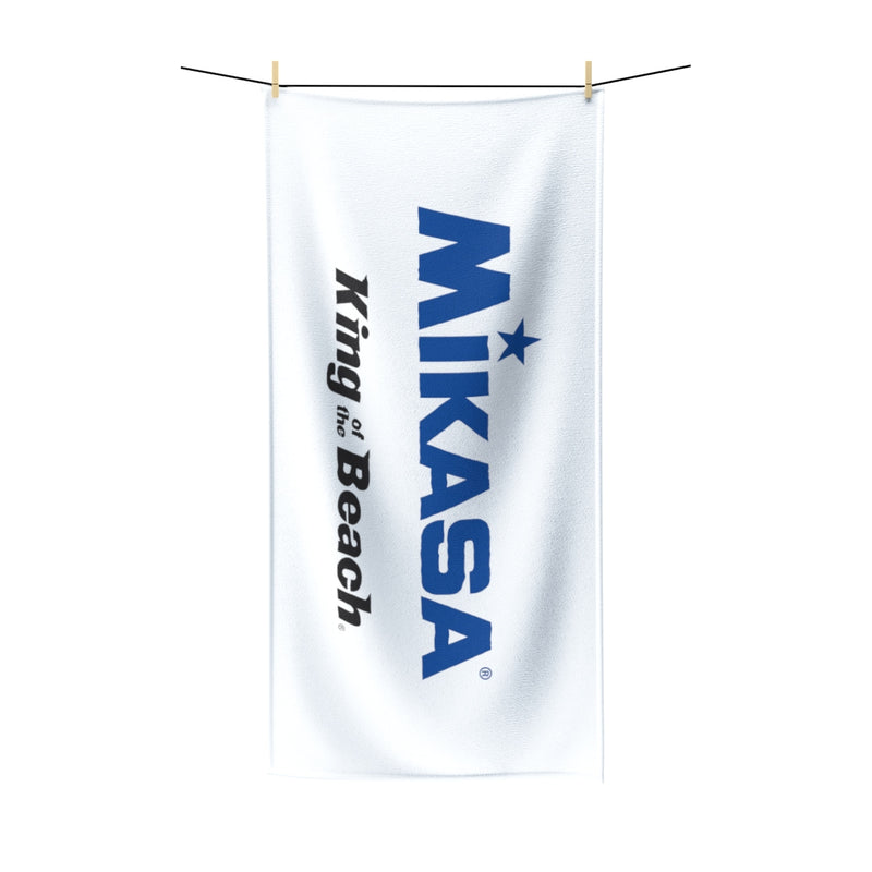 King Of The Beach® x Mikasa® Signature White Beach Towel