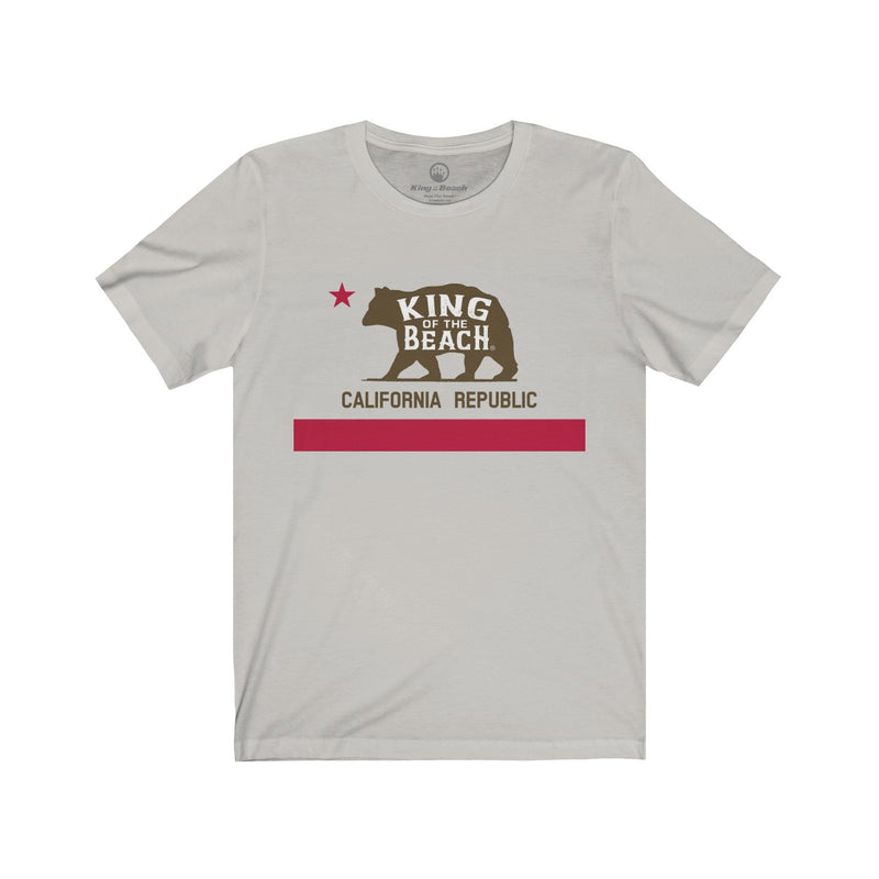 King of the Beach® California Republic Unisex Tee