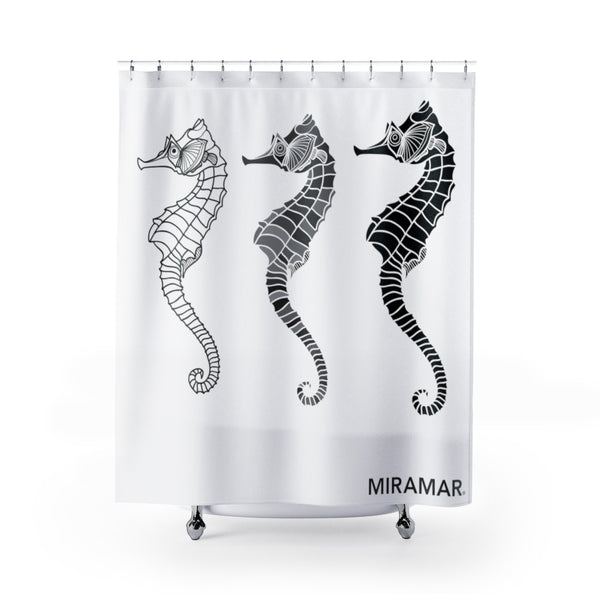 Miramar® Seahorse Collection Shower Curtain