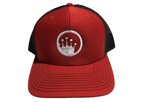 2019 King of the Beach® Circle Crown Logo Snapback Trucker Hat