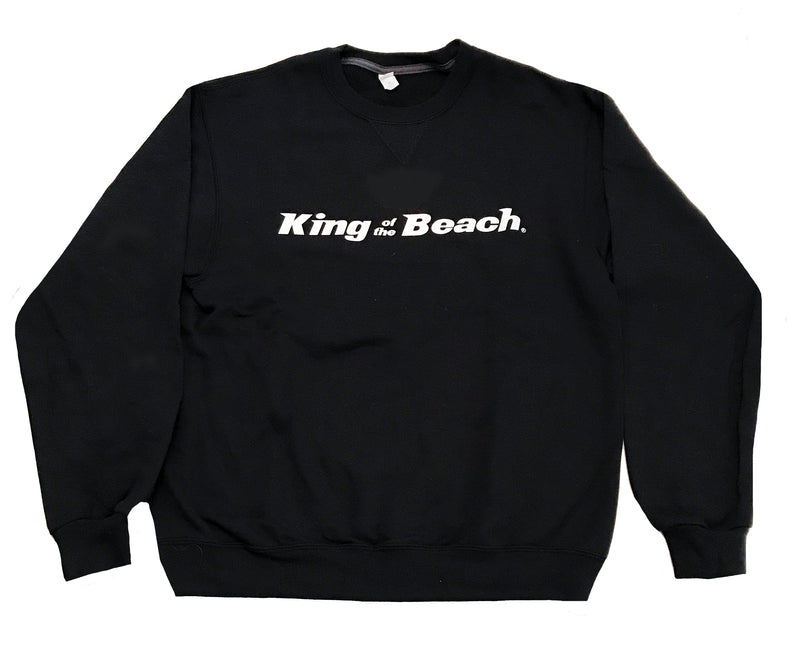 King Of The Beach® Signature Series Crew Neck Sweatshirt Black
