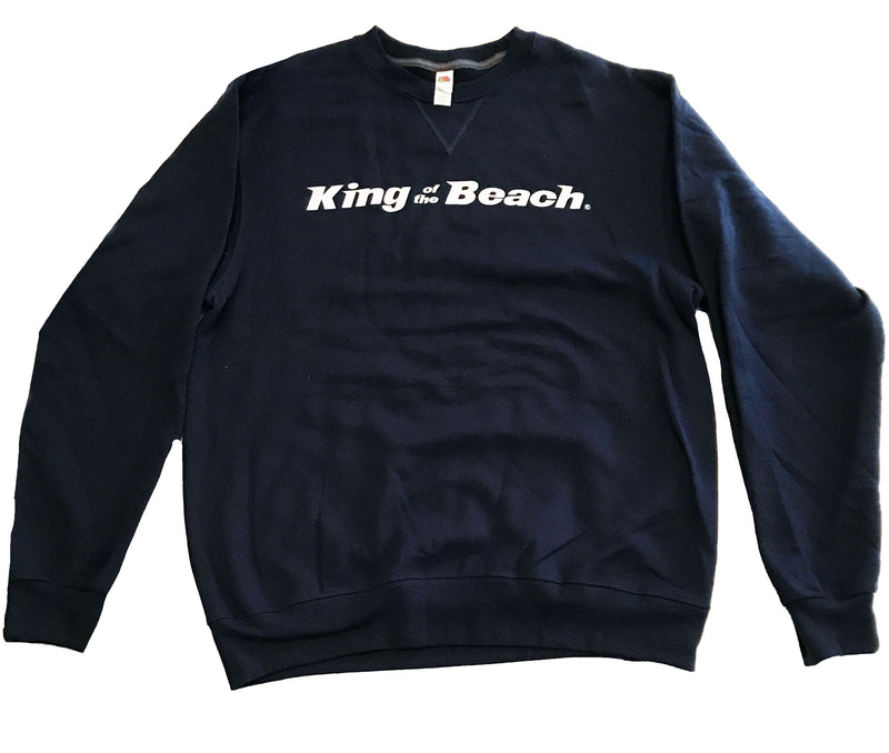 King Of The Beach® Signature Series Crew Neck Sweatshirt Navy