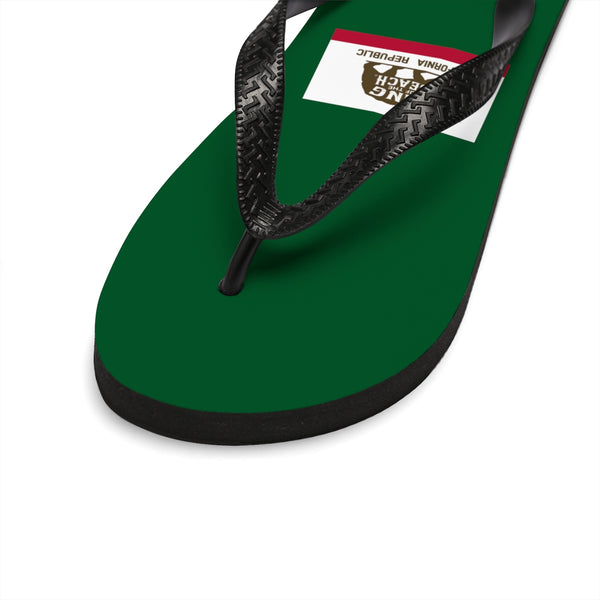 King Of The Beach® California Club Collection Green Flip-Flops