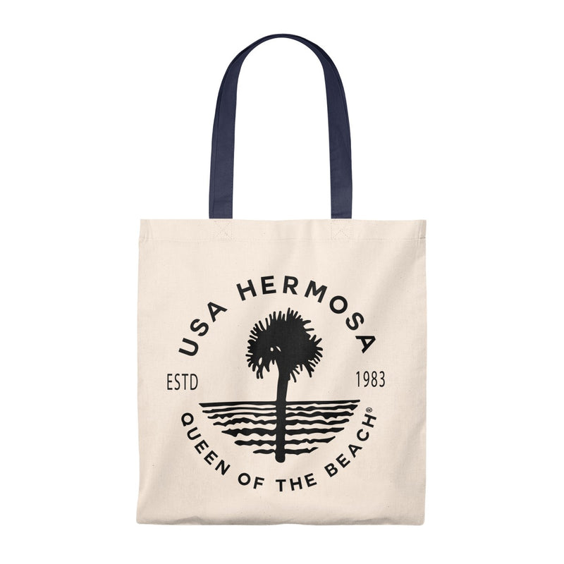 Queen Of The Beach™ Hermosa Beach Collection Classic Vintage Tote Bag