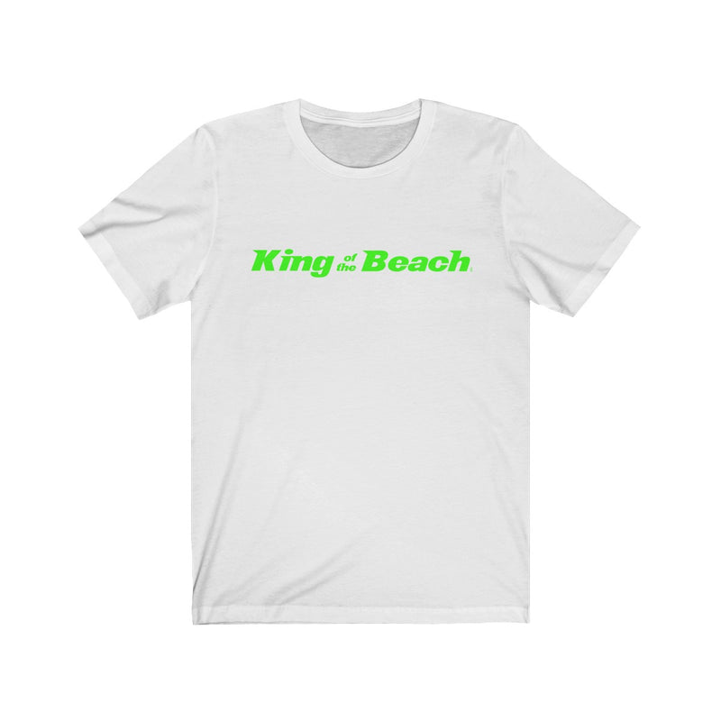 2019 King of the Beach® Signature Neon Green Tee