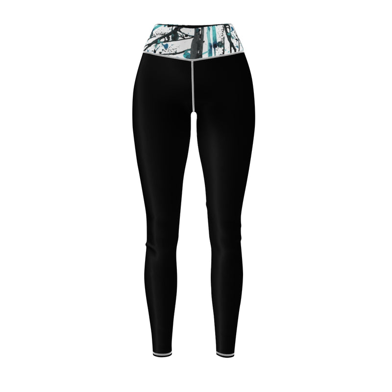 Queen Of The Beach® Women's Art Deco Circle Crown Sports Leggings