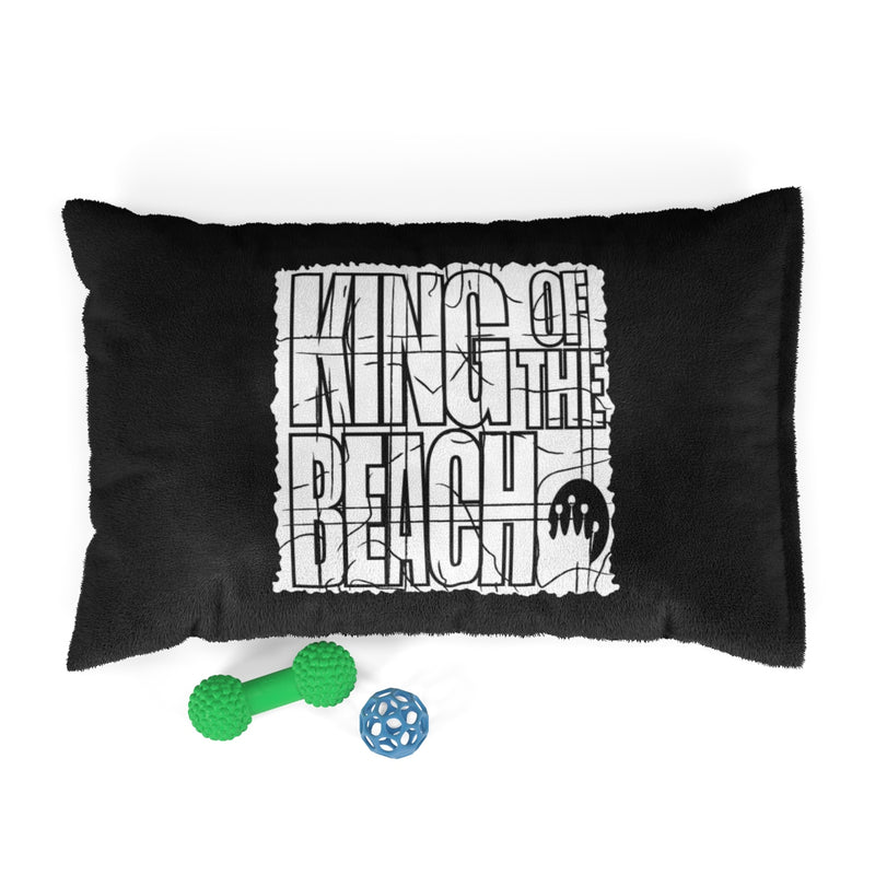 King of the Beach® Retro Black Pet Bed