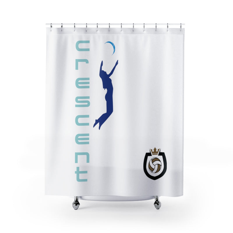 King Of The Beach™ Cresent Volleyball Collection Shower Curtains