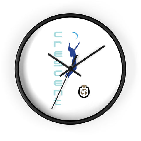 King Of The Beach™ Cresent Volleyball Collection Wall clock