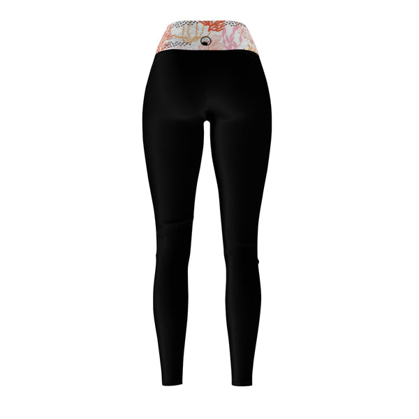 Queen Of The Beach® Women's Deep Sea Circle Crown Sports Leggings