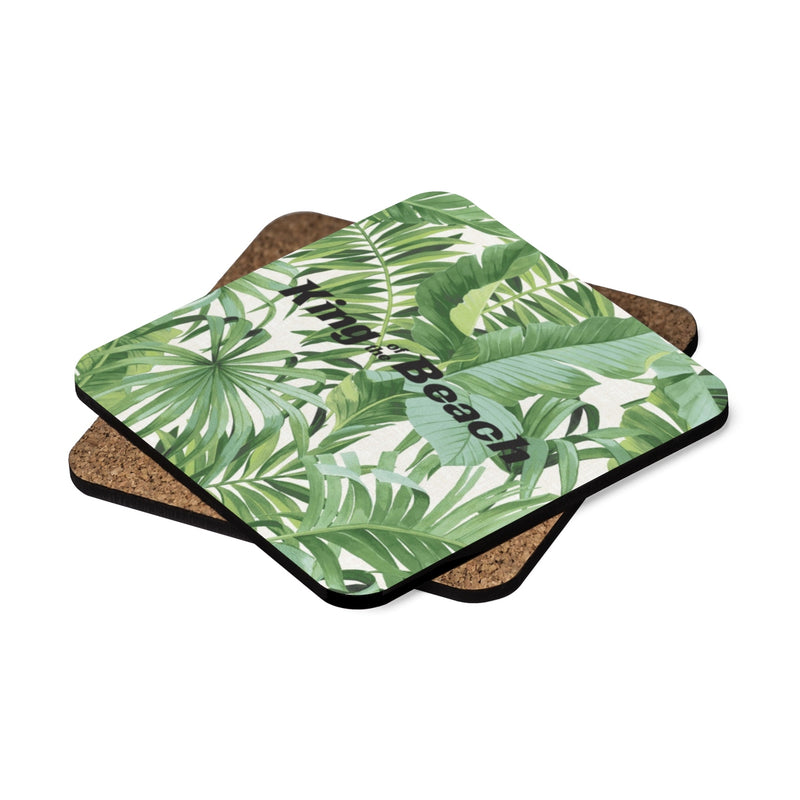 "King Of The Beach® Signature ""Baja Palm"" Coasters"