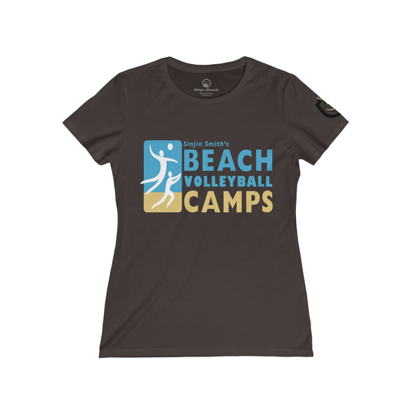 Queen Of The Beach™ Sinjin Smith's Beach Volleyball Camps Women's Tee