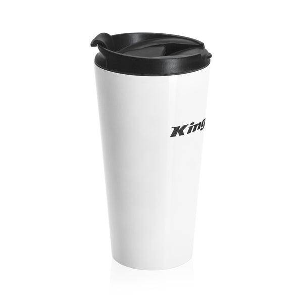 King Of The Snow™ Stainless Steel Travel Mug