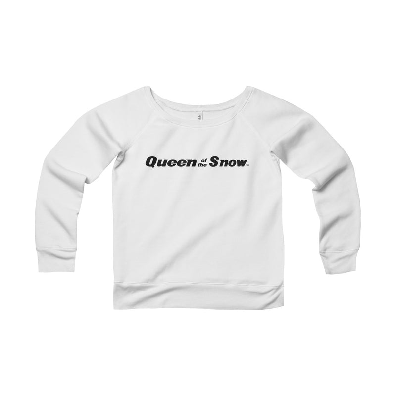 Queen Of The Snow™ Women's Sponge Fleece Wide Neck Sweatshirt