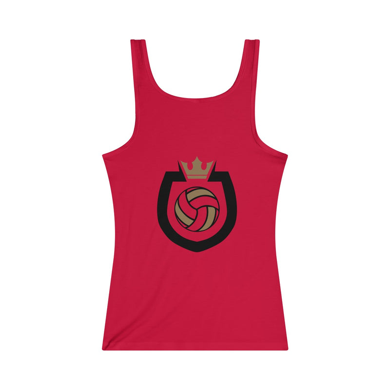 Queen Of The Beach™ Sinjin Smith's Beach Volleyball Camps Women's Jersey Tank