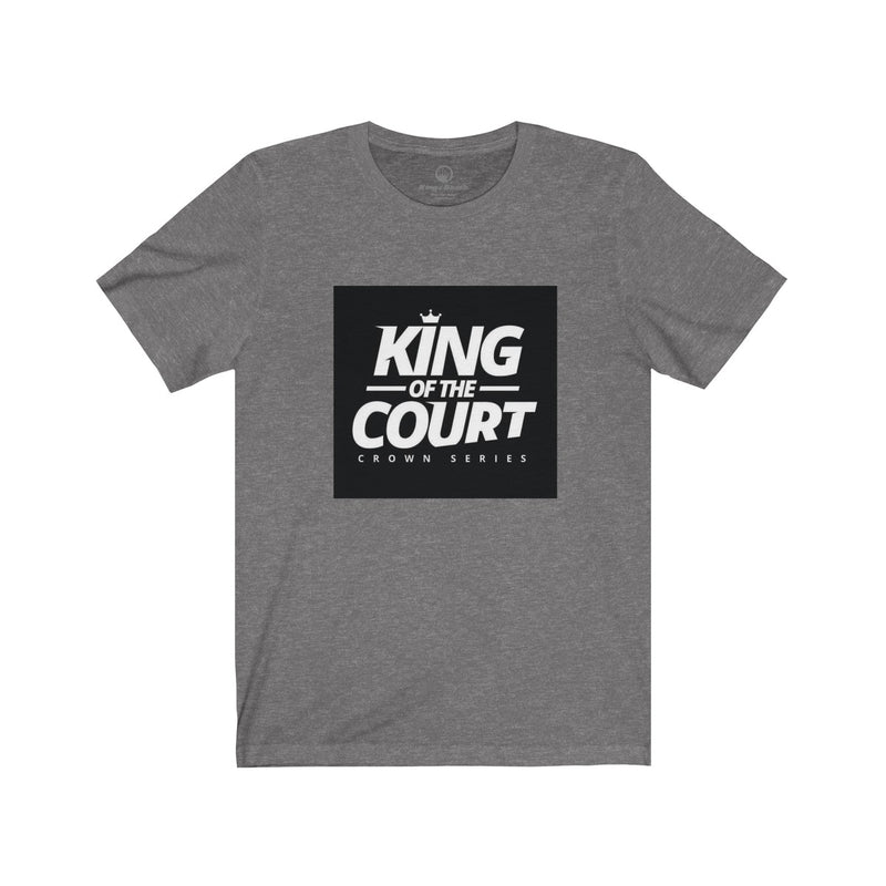 King of the Court™ Crown Series Unisex  Short Sleeve Tee