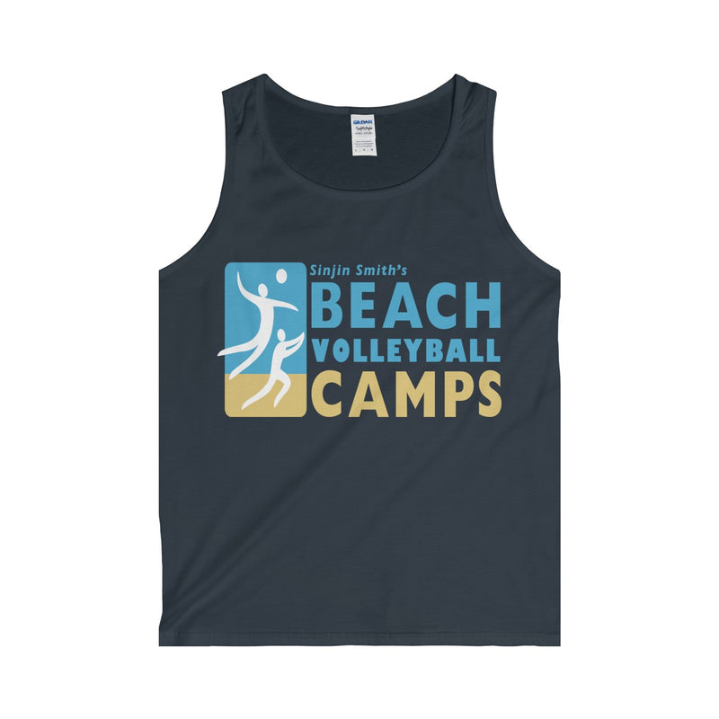 King Of The Beach™ Sinjin Smith's Beach Volleyball Camps Men's Tank Top