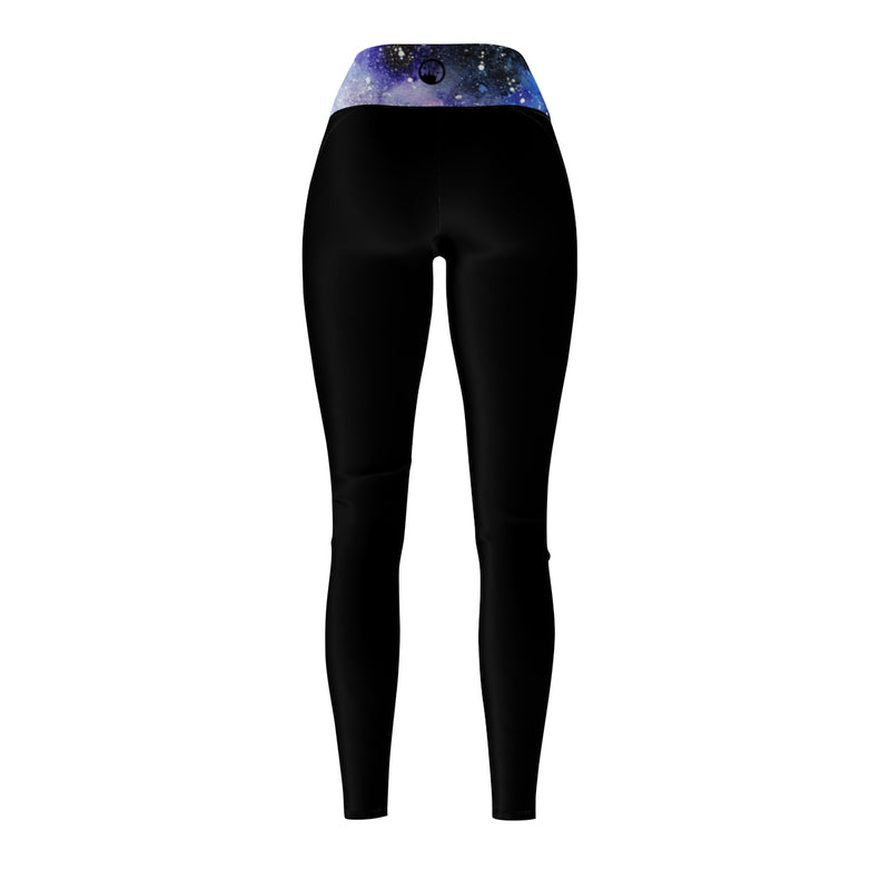 Queen Of The Beach® Women's Space Jam Circle Crown Sports Leggings