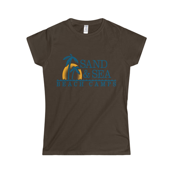 Queen Of The Beach™ Sand & Sea Beach Camps Collection Women's T-Shirt