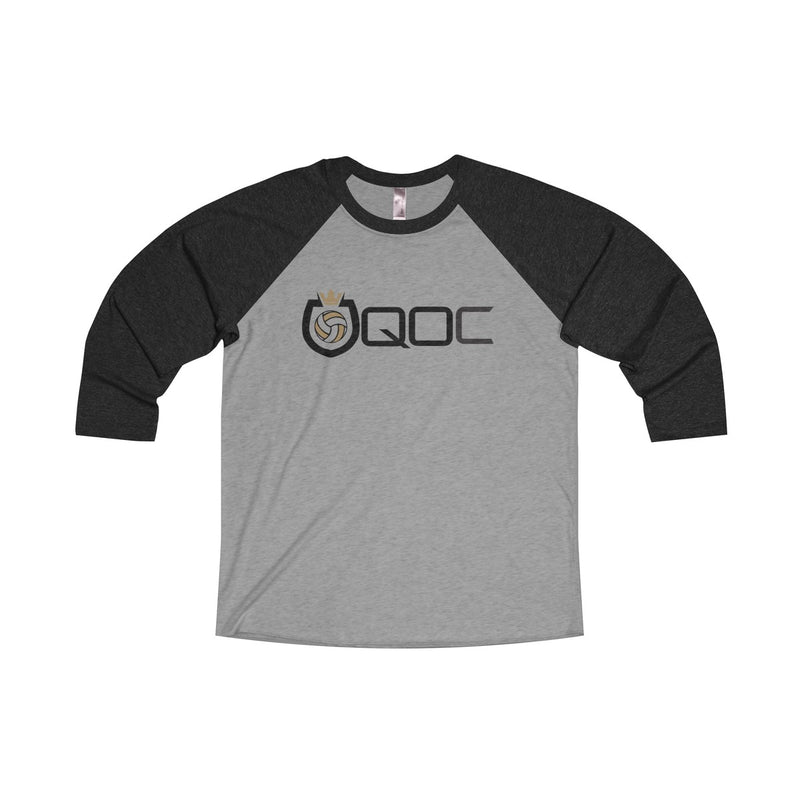 Queen Of The Court® Shield Logo 3/4 Sleeve Tee