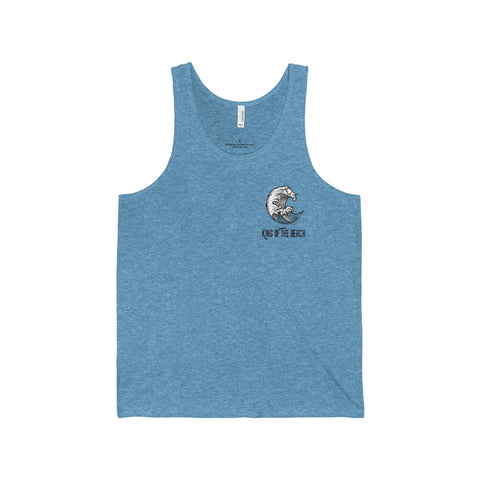 "King of the Beach® ""Tidal Wave"" Unisex Jersey Tank"