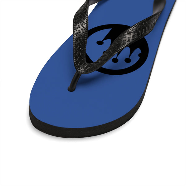 "King of the Beach® Circle Crown ""Rule the Sand"" Flip-Flops"